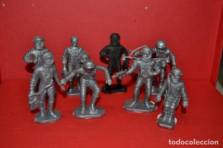 Figuras de Goma y PVC: bonux astronautas de airgam del espacio - Foto 2 - 134774646