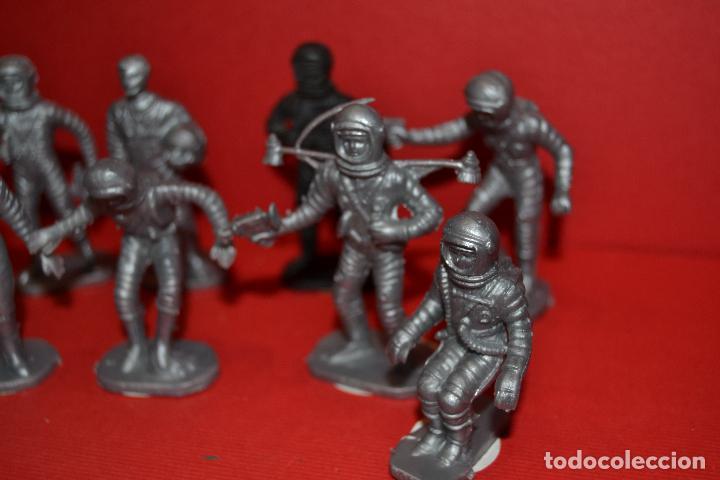 Figuras de Goma y PVC: bonux astronautas de airgam del espacio - Foto 3 - 134774646
