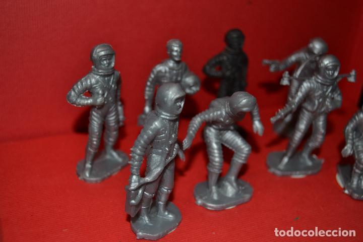Figuras de Goma y PVC: bonux astronautas de airgam del espacio - Foto 4 - 134774646