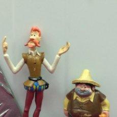 Figuras de Goma y PVC: LOTE 2 FIGURAS PVC EURA SPAIN SERIE DON QUIJOTE AÑOS 80 EPOCA COMICS SPAIN. Lote 103229755