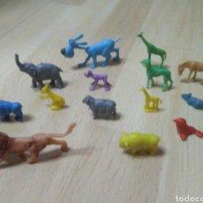 Figuras de Goma y PVC: FIGURAS ANIMALES (DUNKIN O SIMILAR). Lote 103243600