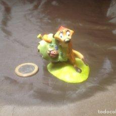Figuras de Goma y PVC: FIGURA PVC TIMÓN SURICATO REY LEÓN DISNEY. Lote 103284791