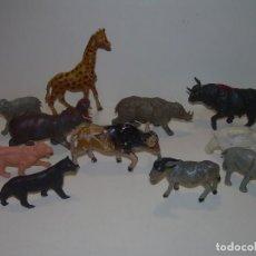 Figuras de Goma y PVC: ANTIGUAS FIGURAS.....TOTAL 11.. Lote 103296335