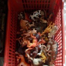 Figuras de Goma y PVC: LOTE DE ANIMALES DE GOMA Y PVC. Lote 103467470