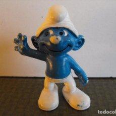 Figuras de Goma y PVC: FIGURA DE PITUFO DE PEYO - SCHLEICH. MADE IN GERMANY.. Lote 103483351