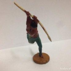 Figuras de Goma y PVC: FIGURA INDIO FABRICADA EN GOMA POR GAMA . Lote 103500035