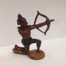 Figuras de Goma y PVC: FIGURA INDIO FABRICADA EN GOMA POR GAMA . Lote 103500083