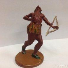 Figuras de Goma y PVC: FIGURA INDIO FABRICADA EN GOMA POR GAMA . Lote 103502691