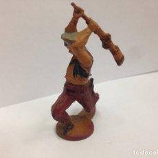 Figuras de Goma y PVC: FIGURA VAQUERO FABRICADA EN GOMA POR GAMA . Lote 103503339