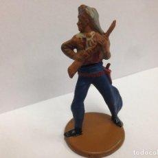 Figuras de Goma y PVC: FIGURA VAQUERO FABRICADA EN GOMA POR GAMA . Lote 103503543