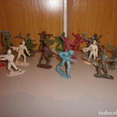 Figuras de Goma y PVC: LOTE DE SOLDADOS AÑOS 60 70. Lote 103514031