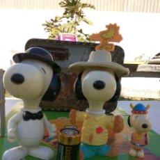 Figuras de Goma y PVC: SNOOPY UFS MCDONALS AÑO 2000 LOTE DE TRES VER FOTOS Y DESCRP. Lote 103825631