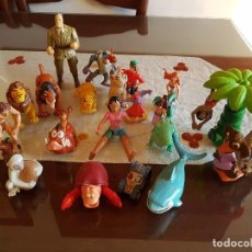 Figuras de Goma y PVC: LOTE DE 21 FIGURAS DE DISNEY GOMA Y PVC . Lote 103848047