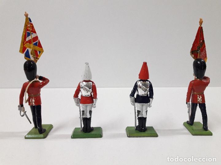 Figuras de Goma y PVC: FIGURAS DEL DESFILE DE LA GUARDIA INGLESA . REALIZADAS POR BRITAINS - Foto 2 - 103850067