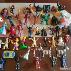 Figuras de Goma y PVC: LOTE 45 FIGURAS DE PROMOCION BURGUER KING. Lote 103850491