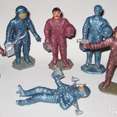 Figuras de Goma y PVC: LOTE SEIS FIGURAS JECSAN APOLO AIRGAM. Lote 103878991