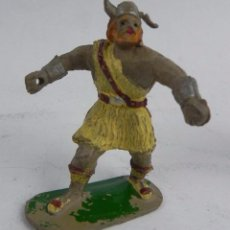 Figuras de Goma y PVC: FIGURA DE GOMA DE VIKINGO, JIM ANTERIOR A ESTEREOPLAST, TAL COMO SE VE EN LAS FOTOS PUESTAS.. Lote 104038031