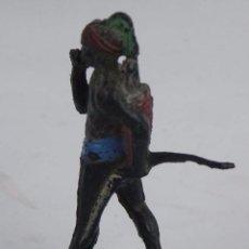 Figuras de Goma y PVC: FIGURA DE GOMA DE NEGRO, ARCLA, TAL COMO SE VE EN LAS FOTOS PUESTAS. Lote 104038727