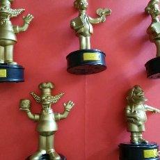 Figuras de Goma y PVC: LOTES DE MUÑECOS SIMPSON DE BURGUER KING. Lote 104061703