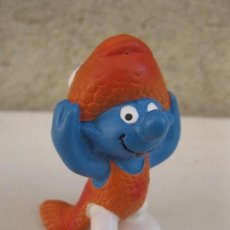 Figuras de Goma y PVC: PITUFO - SERIE HORÓSCOPO - PISCIS - FIGURA DE PVC - PEYO - SCHLEICH.. Lote 104186523