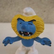 Figuras de Goma y PVC: PITUFO - SERIE HORÓSCOPO - LEO - FIGURA DE PVC - PEYO - SCHLEICH.. Lote 104186635