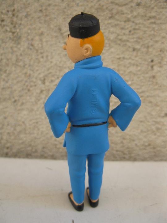 Figuras de Goma y PVC: TINTIN - EL LOTO AZUL - FIGURA DE PVC. - Foto 2 - 104188171