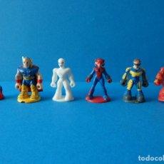 Figuras Kinder: LOTE DE FIGURAS KINDER - SUPERHEROES TM & MARVEL 2011. Lote 104191503