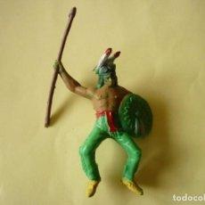 Figuras de Goma y PVC: FIGURA INDIO PECH SERIE GRANDE. Lote 108062467