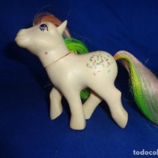 Figuras de Goma y PVC: PONY - MI QUEPEÑO PONY PELO MULTICOLOR HASBRO 1984, CREO MADE IN SPAIN VER FOTOS Y DESCRIPCION! SM. Lote 104200535
