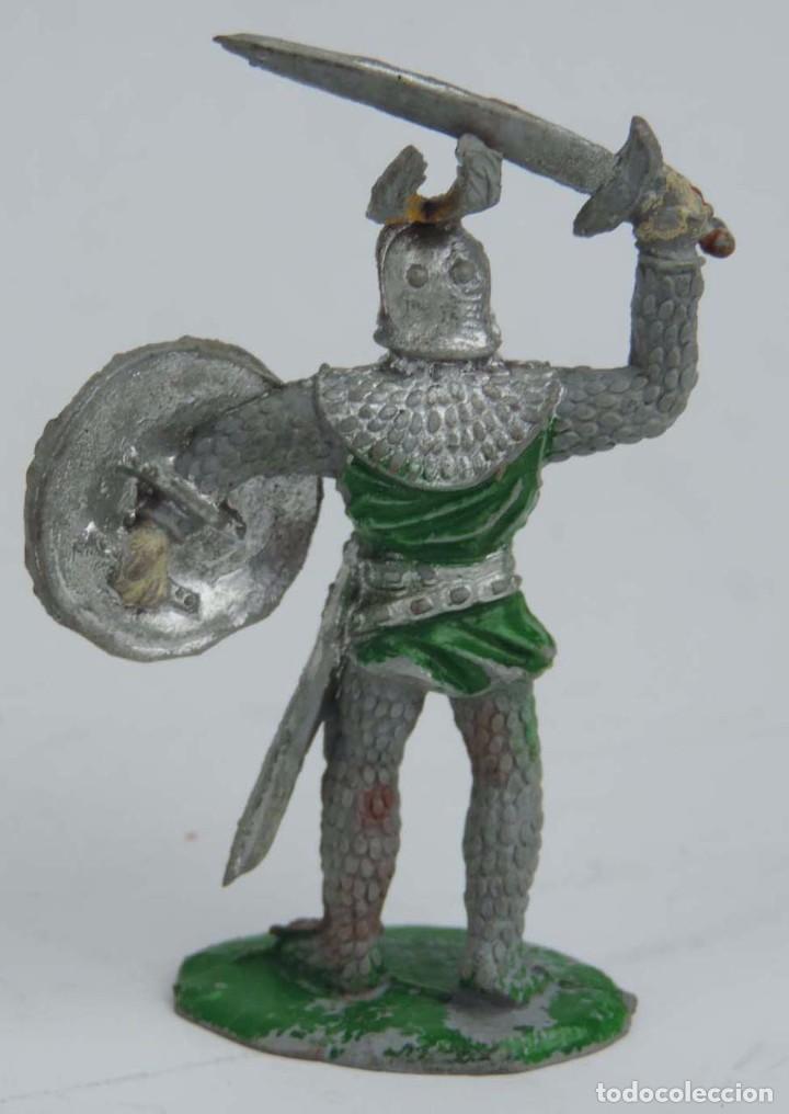 Figuras de Goma y PVC: FIGURA MEDIEVAL DE GOMA LAFREDO, PINTURA ORIGINAL, PINTURA ORIGINAL, AÑOS 50, MIDE 6,5 CMS. - Foto 2 - 104253963