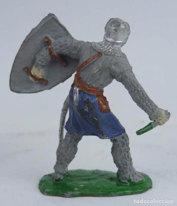 Figuras de Goma y PVC: FIGURA MEDIEVAL DE GOMA LAFREDO, PINTURA ORIGINAL, PINTURA ORIGINAL, AÑOS 50, MIDE 6,5 CMS. - Foto 2 - 104254323