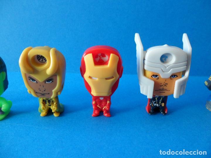 Figuras Kinder: Lote de figuras de Superheroes - Kinder - Marvel - Despiece - Foto 3 - 104313551