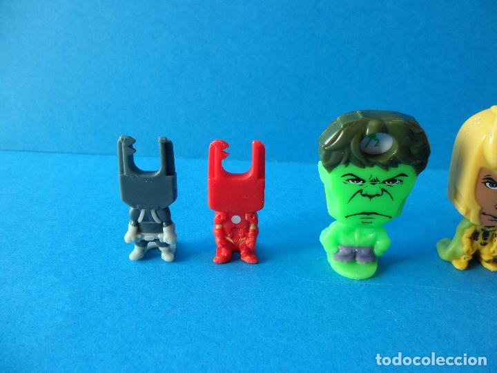 Figuras Kinder: Lote de figuras de Superheroes - Kinder - Marvel - Despiece - Foto 4 - 104313551