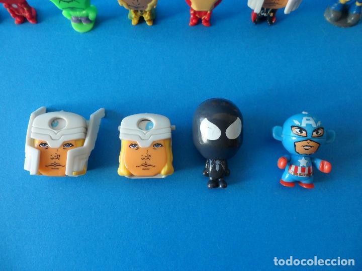 Figuras Kinder: Lote de figuras de Superheroes - Kinder - Marvel - Despiece - Foto 5 - 104313551
