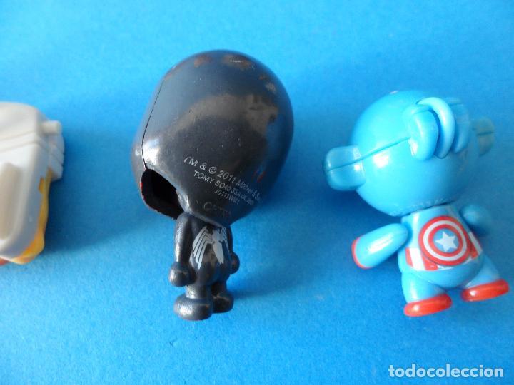 Figuras Kinder: Lote de figuras de Superheroes - Kinder - Marvel - Despiece - Foto 9 - 104313551