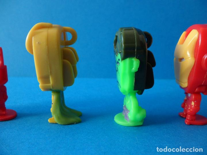 Figuras Kinder: Lote de figuras de Superheroes - Kinder - Marvel - Despiece - Foto 20 - 104313551