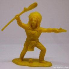 Figuras de Goma y PVC: FIGURA DE PLASTICO, REAMSA . GOMARSA, INDIO, PIPERO, RESERVACION INDIA. Lote 104341263