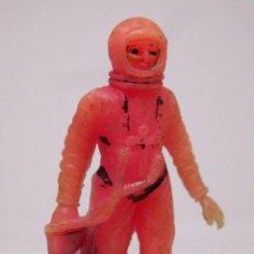 Figuras de Goma y PVC: FIGURA DE PLASTICO, ASTRONAUTA, SERIE ESPACIO LUNAR, APOLO, JECSAN - AIRGAM, 1970S. Lote 104344895