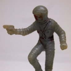 Figuras de Goma y PVC: FIGURA DE PLASTICO, ASTRONAUTA, SERIE ESPACIO LUNAR, APOLO, JECSAN - AIRGAM, 1970S. Lote 104345019