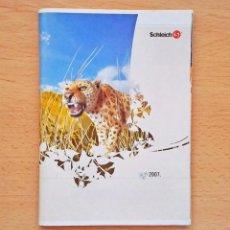 Figuras de Goma y PVC: 2007 CATALOGO FIGURAS SCHLEICH JUGUETES ANIMALES. Lote 104513063