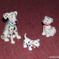 Figuras de Goma y PVC: LOTE FIGURITAS DALMATAS DE DISNEY / BULLY. Lote 104514499