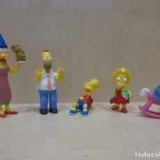 Figuras de Goma y PVC: LOTE FIGURAS LOS SIMPSONS, PERSONAJES, BART, LISA, MAGGIE, MARGE, HOMER, EN PVC, 2007 FOX. Lote 104875859