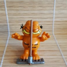 Figuras de Goma y PVC: FIGURA GARFIELD BULLY GERMANY. Lote 104880043
