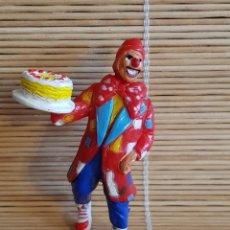 Figuras de Goma y PVC: FIGURA PAYASO MICOLOR ANTIGUA. Lote 104880276
