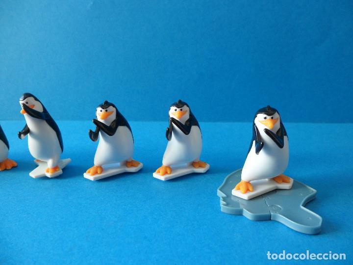 Figuras Kinder: Lote de figuras Kinder Sorpresa - Los pinguinos de Madagascar - Foto 3 - 104901815