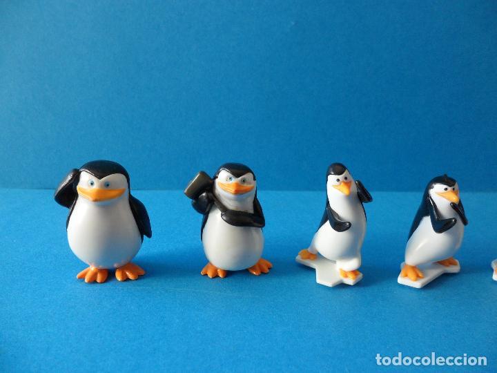 Figuras Kinder: Lote de figuras Kinder Sorpresa - Los pinguinos de Madagascar - Foto 4 - 104901815