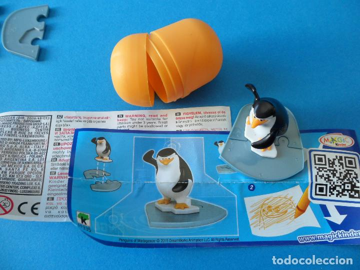 Figuras Kinder: Lote de figuras Kinder Sorpresa - Los pinguinos de Madagascar - Foto 5 - 104901815