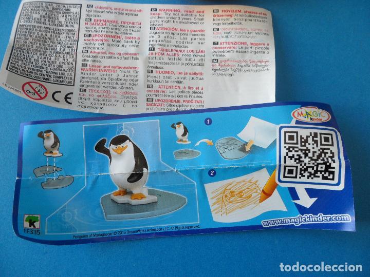 Figuras Kinder: Lote de figuras Kinder Sorpresa - Los pinguinos de Madagascar - Foto 6 - 104901815