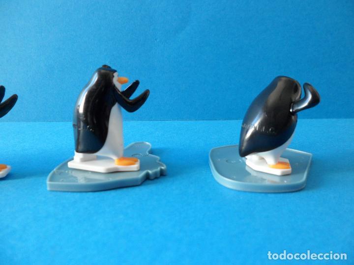 Figuras Kinder: Lote de figuras Kinder Sorpresa - Los pinguinos de Madagascar - Foto 8 - 104901815
