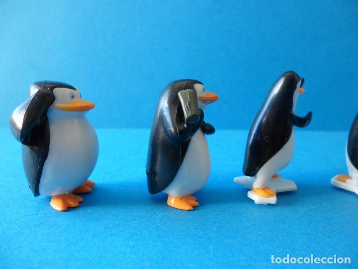 Figuras Kinder: Lote de figuras Kinder Sorpresa - Los pinguinos de Madagascar - Foto 10 - 104901815